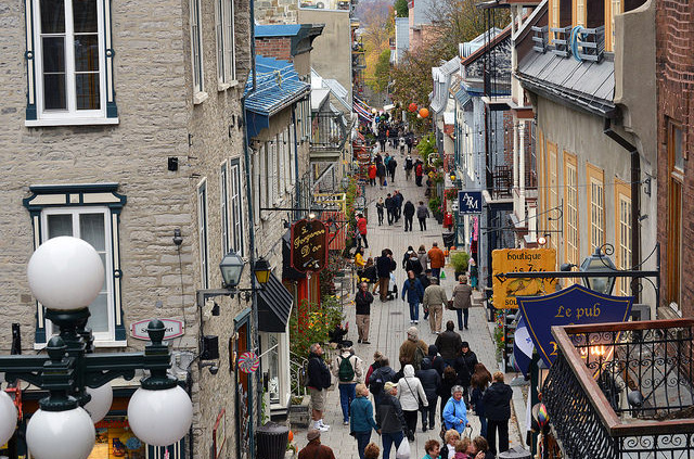 Quartier Petit Champlain, Québec City