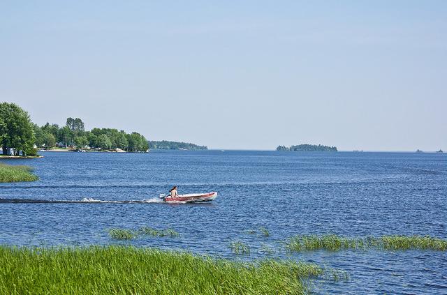 Le lac Nipissing, North Bay