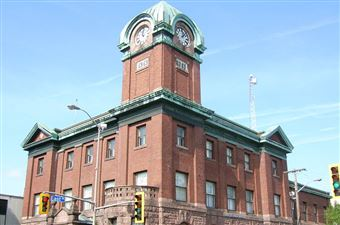 Le centre-ville de Sault Ste. Marie