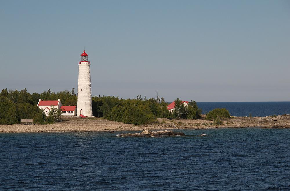 L'île Manitoulin, Sudbury