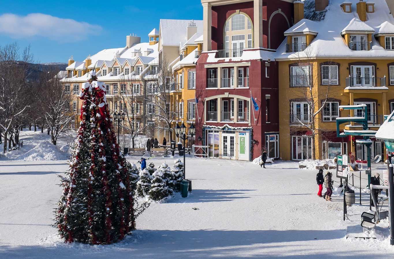 Pedestrian Village, Mont-Tremblant