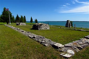 Le lieu historique national Fort-St. Joseph, Sault Ste. Marie