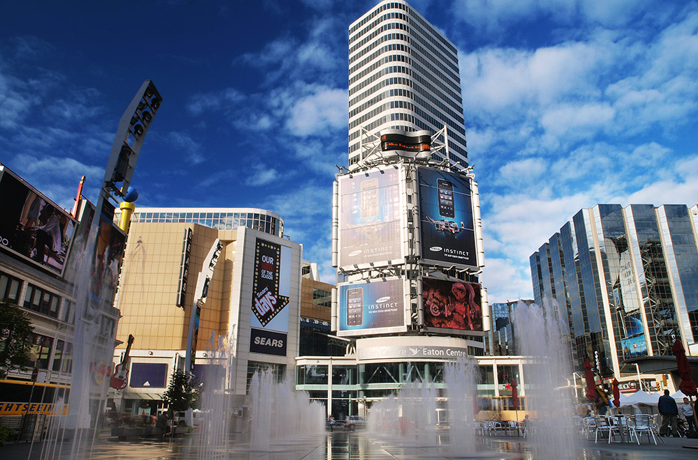 Yonge and Dundas, Toronto