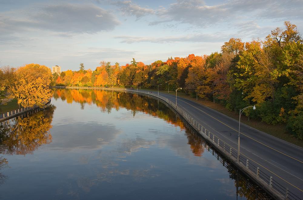 Le canal Rideau, Ottawa