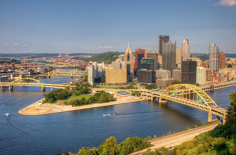 Le centre-ville de Pittsburgh, Pittsburgh
