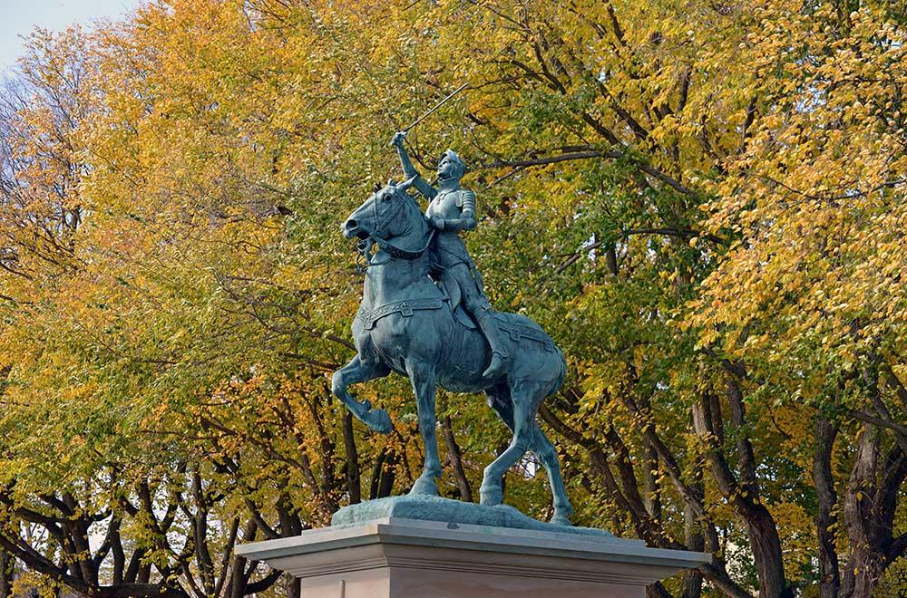 Le parc des Champs-de-Bataille, La ville du Québec