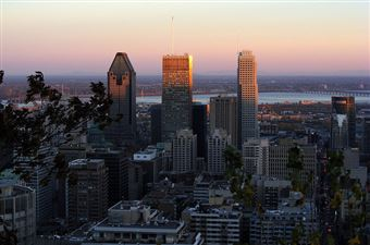 Le centre-ville, Montréal