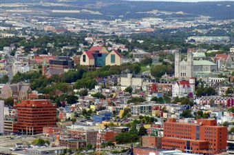 Le centre-ville de St. John's