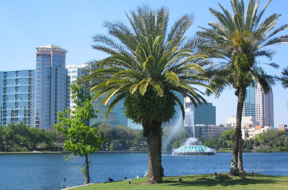 Le centre-ville de Melbourne, Orlando-Melbourne