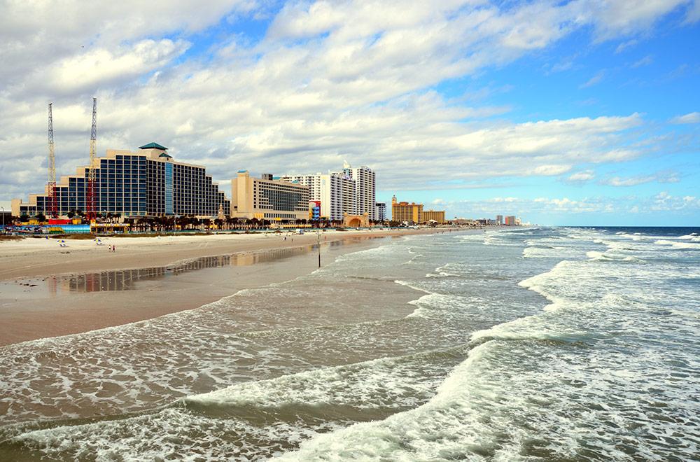Daytona Beach, Orlando-Melbourne