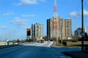Le quartier Riverside, Windsor