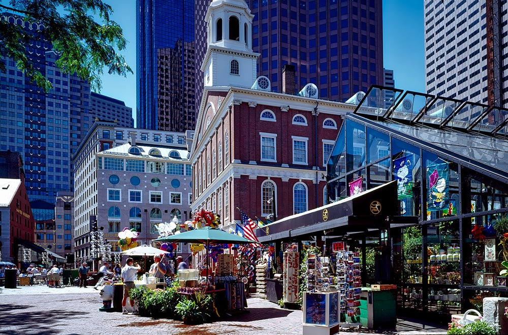Le centre-ville, Boston