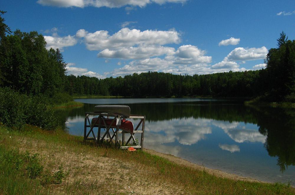 Le parc provincial Kettle Lakes, Ontario