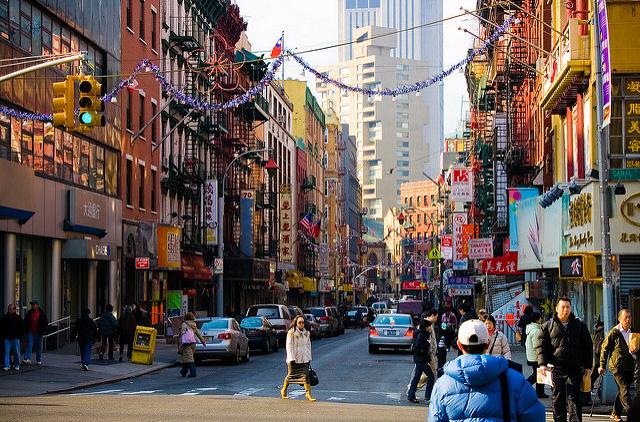 Le quartier chinois de Manhattan, New York