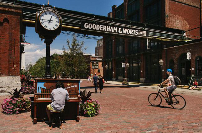 Le Distillery District, Toronto