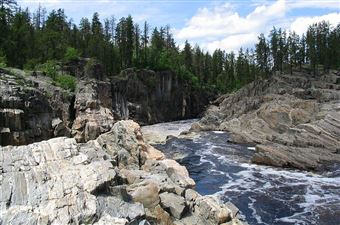 La zone de conservation Cascades, Thunder Bay