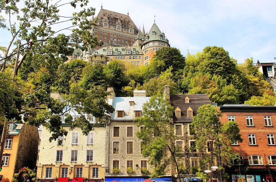 Le Vieux-Québec, La ville du Québec