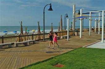 La promenade de Myrtle Beach, Myrtle Beach