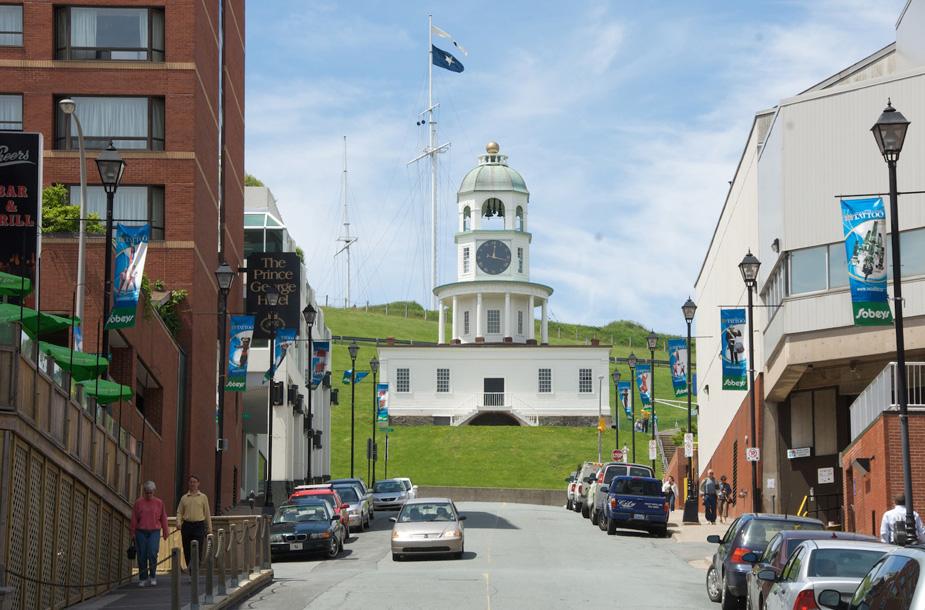 Le quartier North End d'Halifax, Halifax