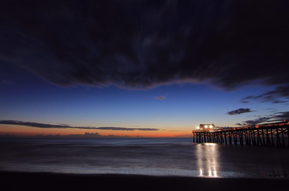 La plage Cocoa, Orlando-Melbourne