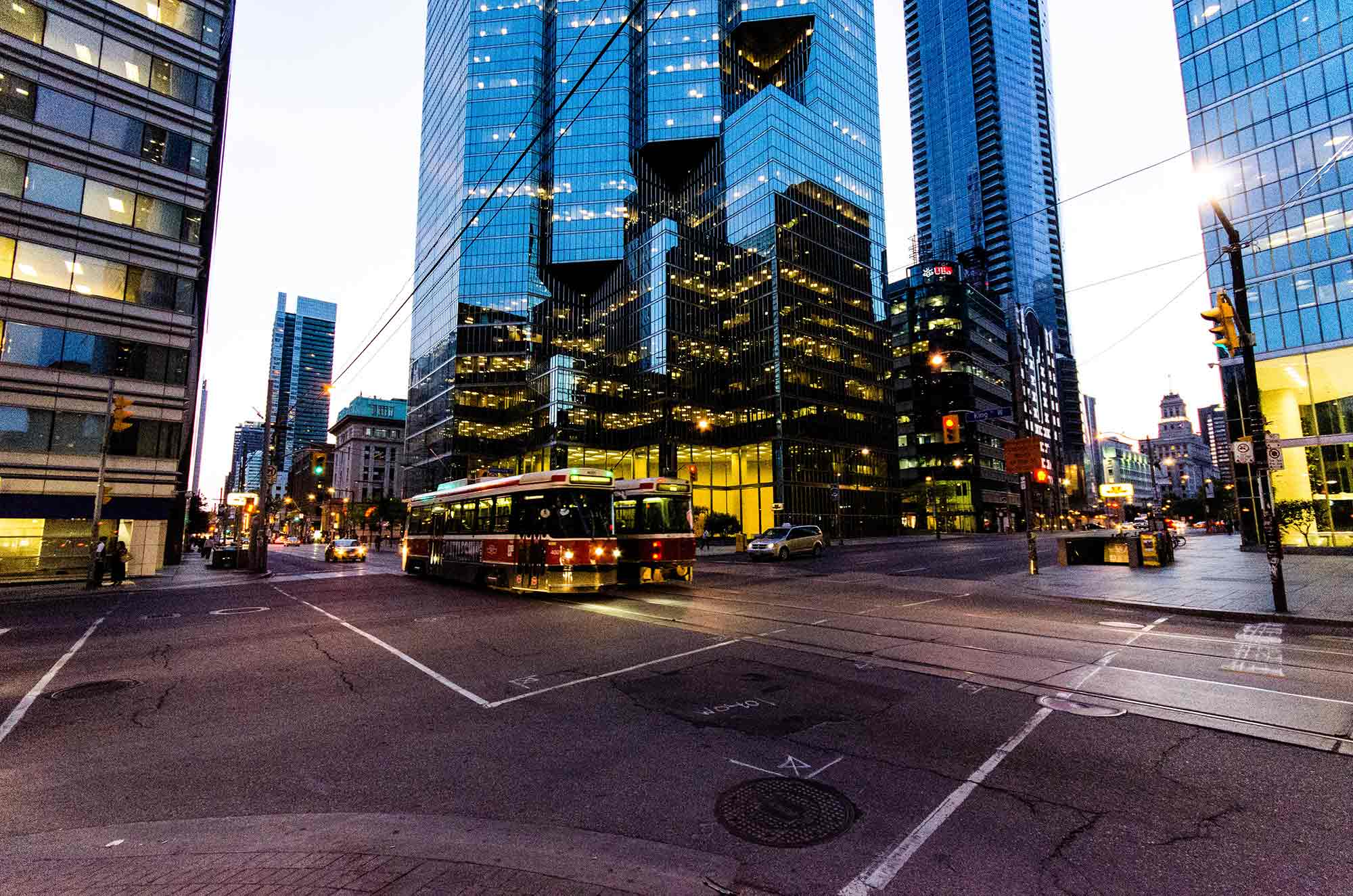 Le quartier des affaires, Toronto
