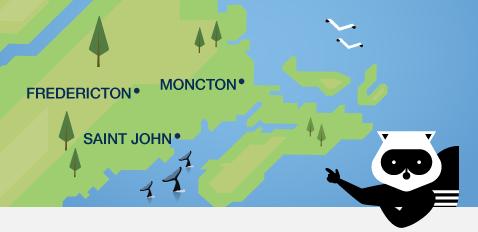 We've got New Brunswick covered!