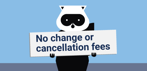 Book by April 30 & your fees are waived