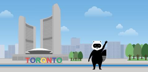 Atterrissez au centre-ville de Toronto