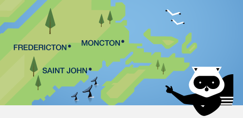 We've got New Brunswick covered!
